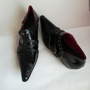 Men's Funky Italian Leather Shoes Size 44